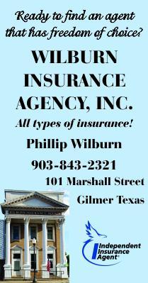 Wilburn Insurance Gilmer