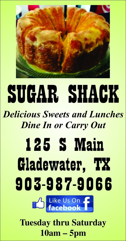 Sugar Shack Gladewater