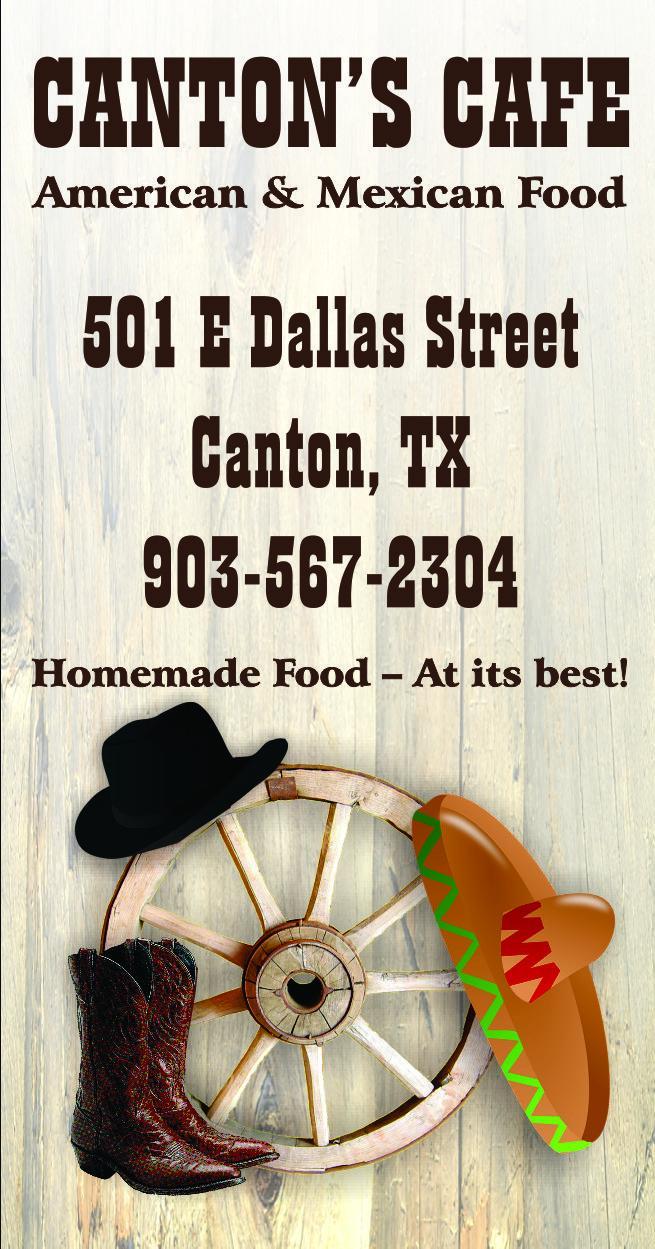 Canton's Cafe  Canton