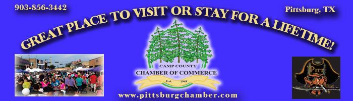Camp County Chamber BTT Pittsburg