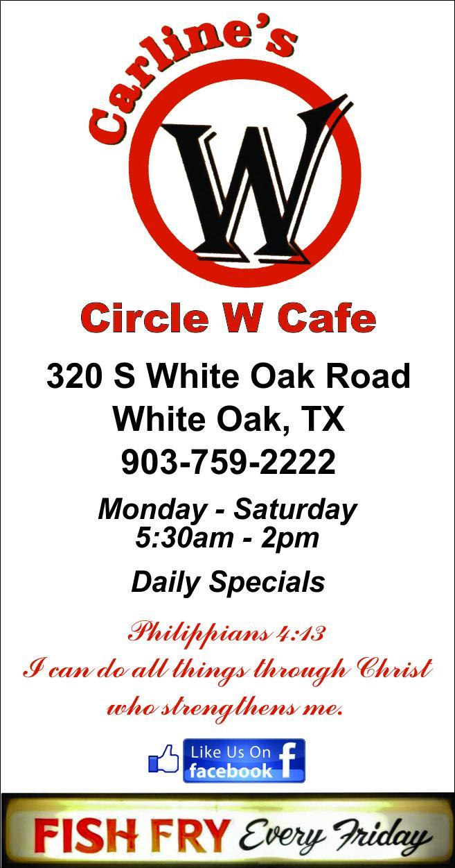 Carlines Circle W Cafe Longview