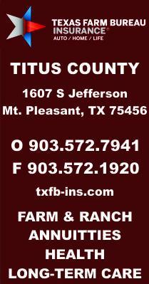 Texas Farm Bureau Titus