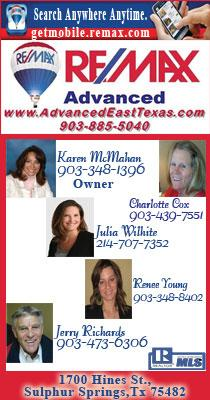 Advanced Remax Sulphur Springs