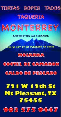 Taqueria Monterrey Mt Pleasant