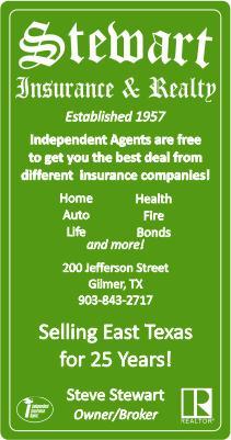 Stewart Insurance Gilmer