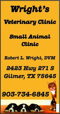 Wright Veterinary Gilmer