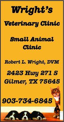 Wright Veterinary Gilmer