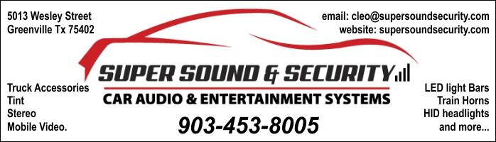 Super Sound and Security