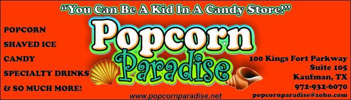 Popcorn Paradise Kaufman