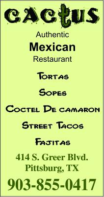 Cactus Mexican Food  Pittsburg