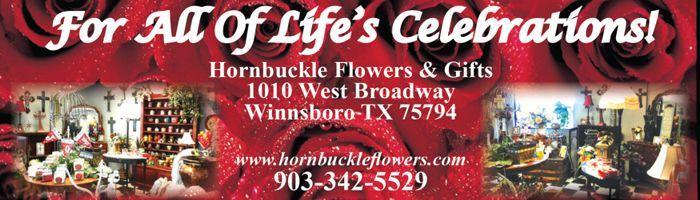 Hornbuckle Flowers Banner