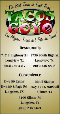 Taco GoYo Longview