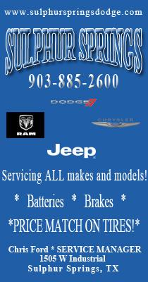 Sulphur Springs Dodge