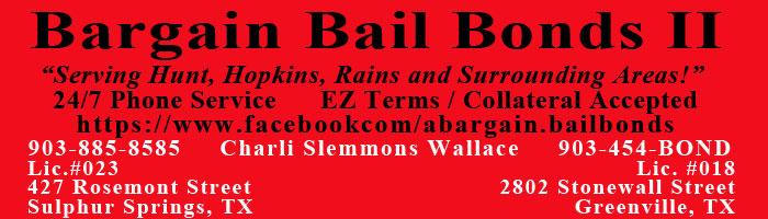 Bargain Bail Bonds II