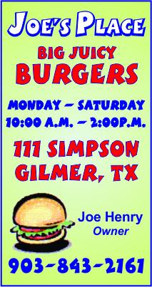 Joe's Place Gilmer