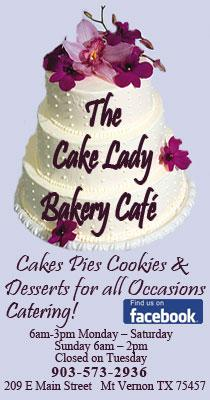 The Cake Lady  MT Vernon